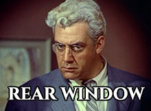 Murder Mysteries Rear Window Raymond Burr